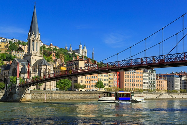 Agence de communication digitale à Rouen - Agence YMJ - Photo ville de Lyon