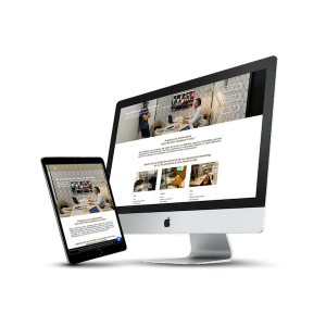 Mockup création de site Now coworking