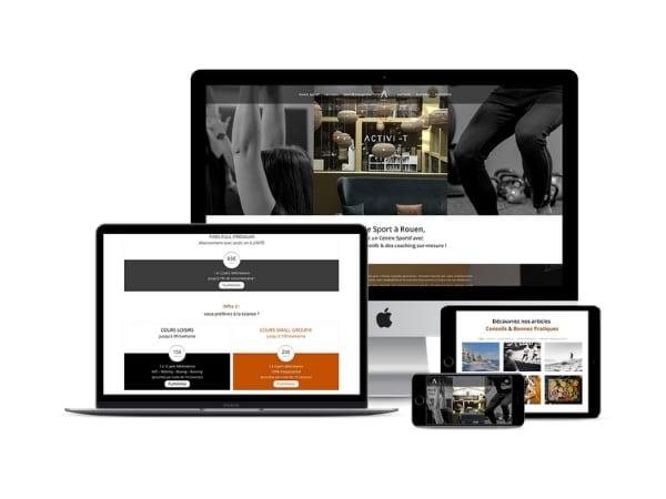 Création de site internet Activi-t