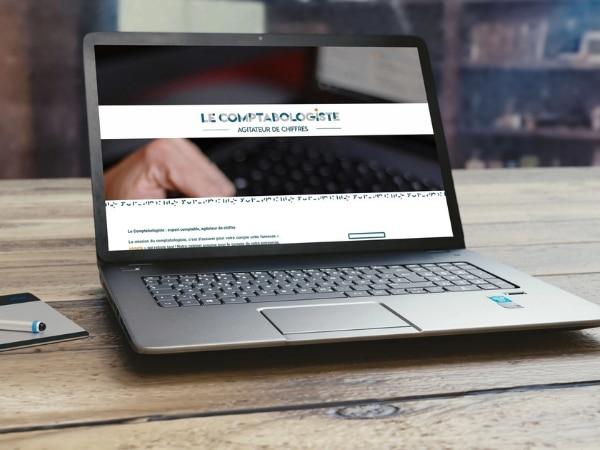 Création de site internet Le Comptabologiste