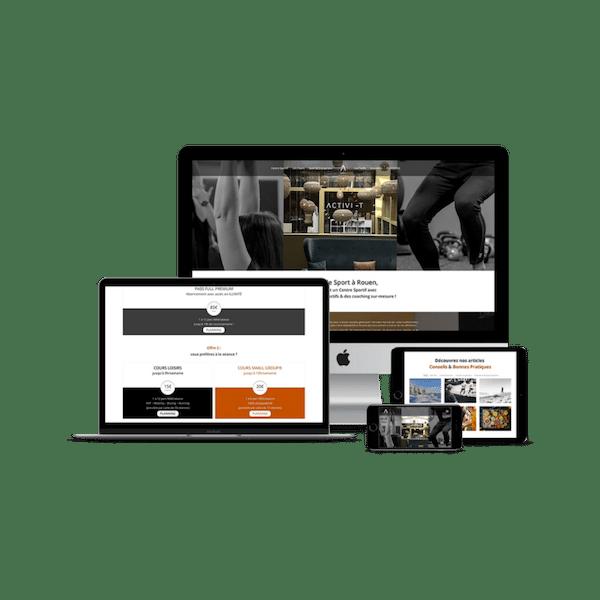 Mockup création de site Activi-t