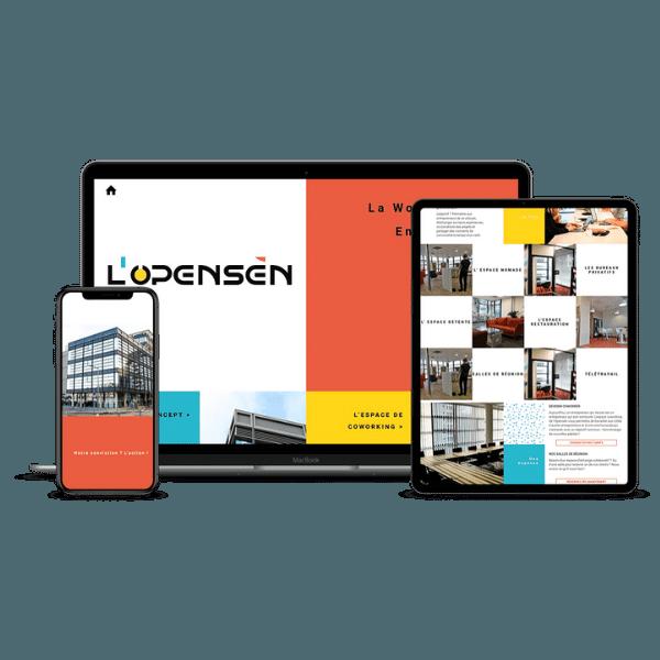 Création du site L'opensen